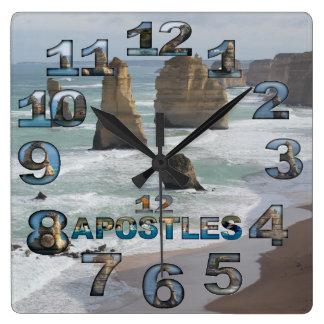 12 Appostles Australia Square wall clock