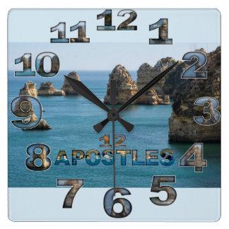 12 Appostles Australia Square wall clock 2