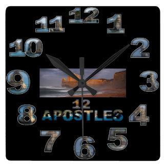 12 Appostles Australia Square wall clock 3