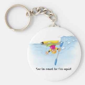 12_counting_fish basic round button key ring
