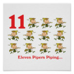 12 days eleven pipers piping