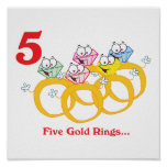 12 days five gold rings