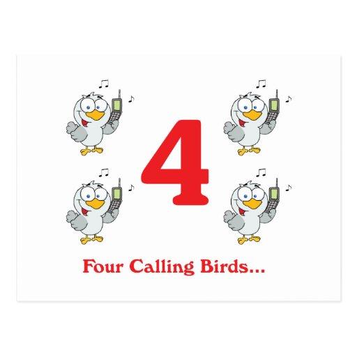 The Twelve Days Of Christmas Postcards The Twelve Days Of