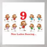 12 days nine ladies dancing