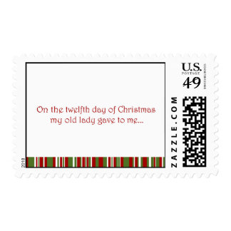 12 Days of a Redneck Christmas Stamps