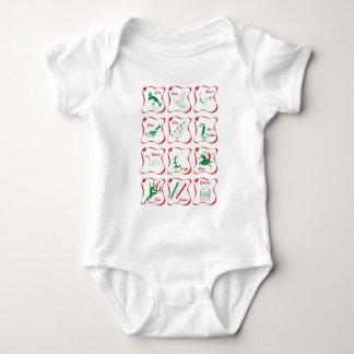12 days of Christmas Baby Bodysuit