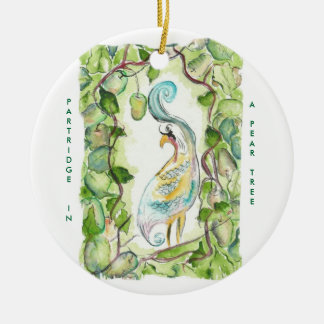 12 days of Christmas  Partridge Christmas Ornament