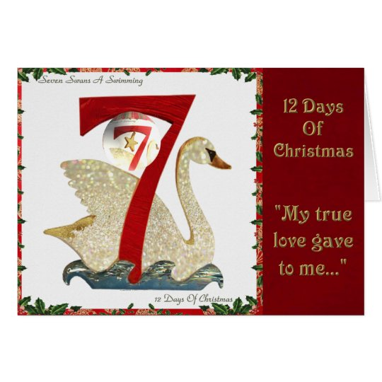 12 Days of Christmas Seven Swans A Swimming
