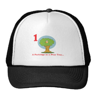 12 days partridge in a pear tree cap