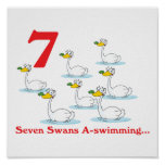 12 days seven swans a-swimming