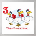 12 days three french hens