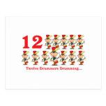 12 days twelve drummers drumming