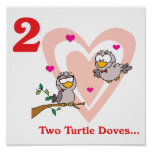 12 days two turtle doves poster