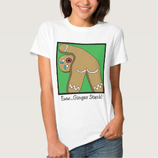 12 Farts of Christmas Gingerbread T-shirt