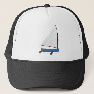 12 Foot Sailing Dinghy Trucker Hat