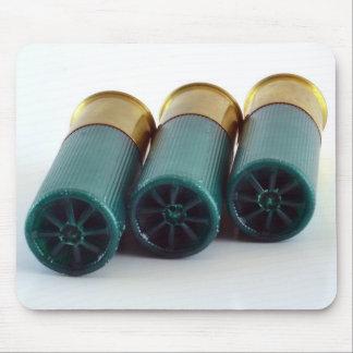 12 Gauge Shotgun Shells Mouse Pad