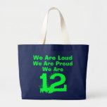 12 hand bag! jumbo tote bag