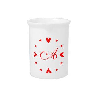 12 hearts beverage pitchers
