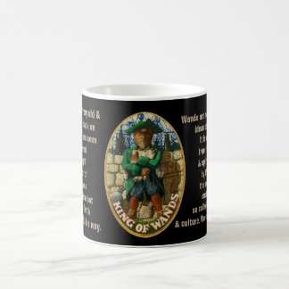 12. King of Wands - Sailor tarot Coffee Mug