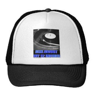 "12"" logo mesh hats"