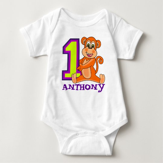 12 MONTH OLD Fist birthday Baby Bodysuit