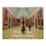 12 month Winter Palace 2017 Wall Calendar