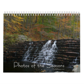 12 Months of Photos of the Seasons, 2nd Edition Wall Calendar