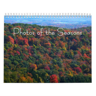 12 Months of Photos of the Seasons, 9th Edition Wall Calendar