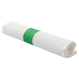 "12 Napkin Bands wrap around utensils 6.5""l x 1.5""w"