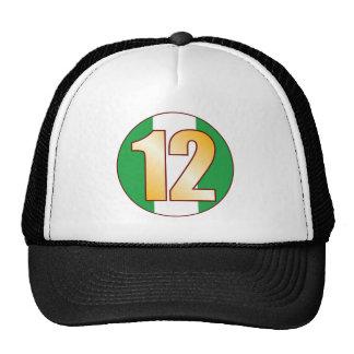 12 NIGERIA Gold Cap
