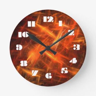 12 Number Choices to Choose -Electricity-Clock Round Clock