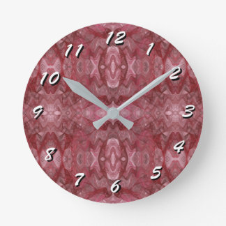 12 Number Choices to Choose-Fractal Art-Clock Clocks
