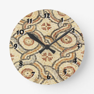 12 Number Choices to Choose From Tile Floor Clock
