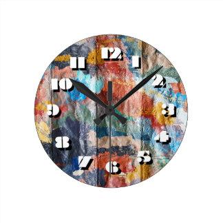 12 Number Choices to Choose -Graffiti-Clock Clock
