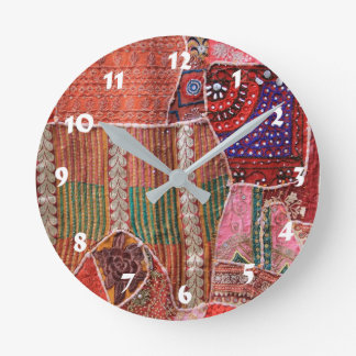 12 Number Choices to Choose -- Quilt Clock