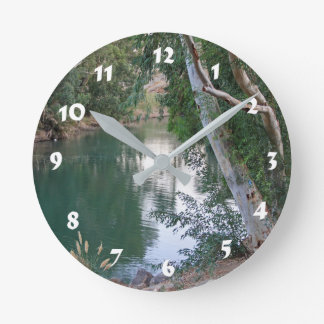 12 Number Choices to Choose --River Wallclock