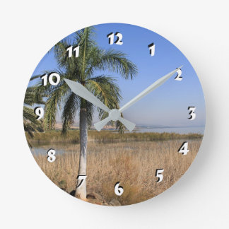 12 Number Choices to Choose --Sea of Galilee Wall Clocks