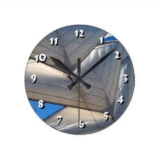12 Number Choices to Choose-Ship Sails-Clock Clocks