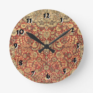 12 Number Choices to Choose -- Tapestry Clock
