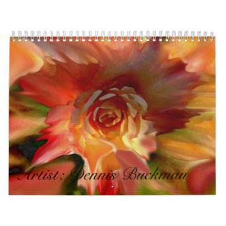 12 Pieces  By Dennis Buckman Calendars