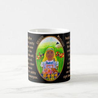 12. Queen of Pentacles - Alice tarot Coffee Mug