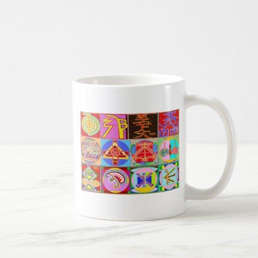 12 Reiki n Karuna Reiki Healing Designs Mugs