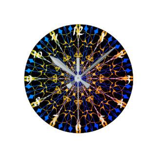 12 sided Mandala Clock #1