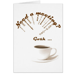 12 Step Cards Funny AA NA Card Need A Meeting?