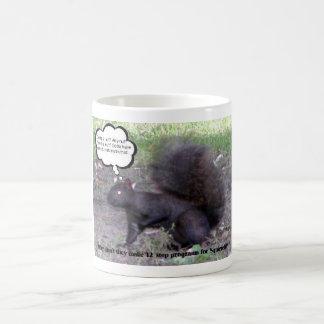 12 step for squirrels basic white mug