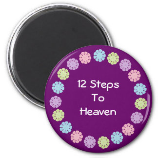 12 Steps to Heaven purple magnet