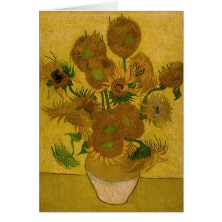 12 Sunflowers - Greeting card