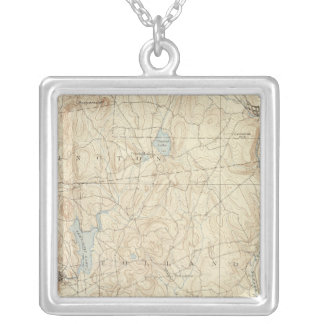 12 Tolland sheet Silver Plated Necklace