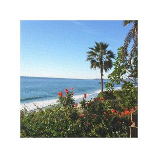 """12"""" x 12"""", 1.5"""" San Clemente Beach Canvas Print"""