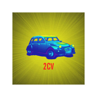 "12"" x 12"", 1.5"", Single 2cv by highsaltire print"